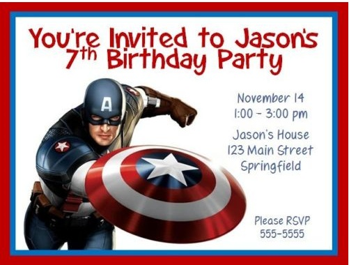 captain america birthday card template ; captain-america-birthday-invitations-by-way-of-using-an-impressive-design-concept-for-your-extraordinary-Birthday-Invitation-Templates-15