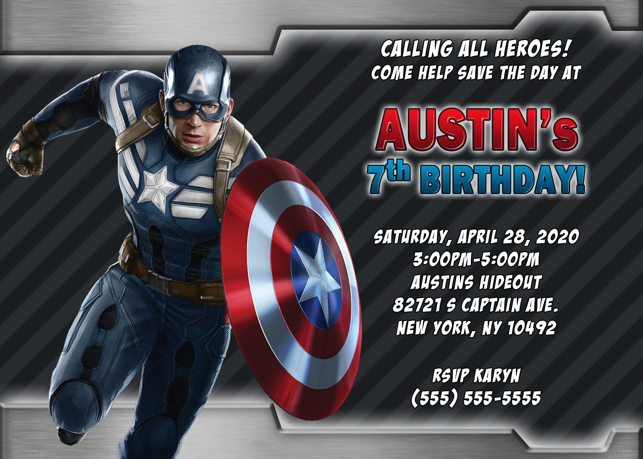 captain america birthday card template ; captain-america-birthday-invitations-with-a-mesmerizing-invitations-specially-designed-for-your-Baby-Shower-Invitation-Templates-16