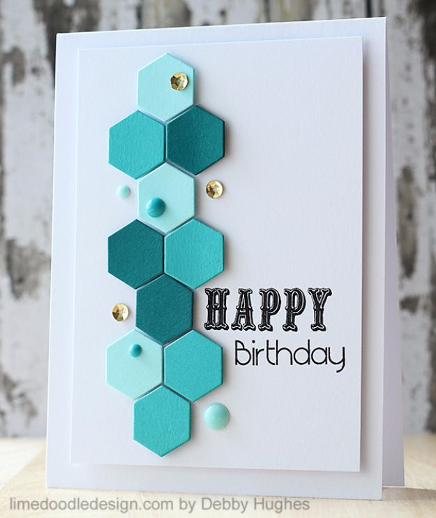 cards handmade birthday card ; Patterns-Birthday-Card