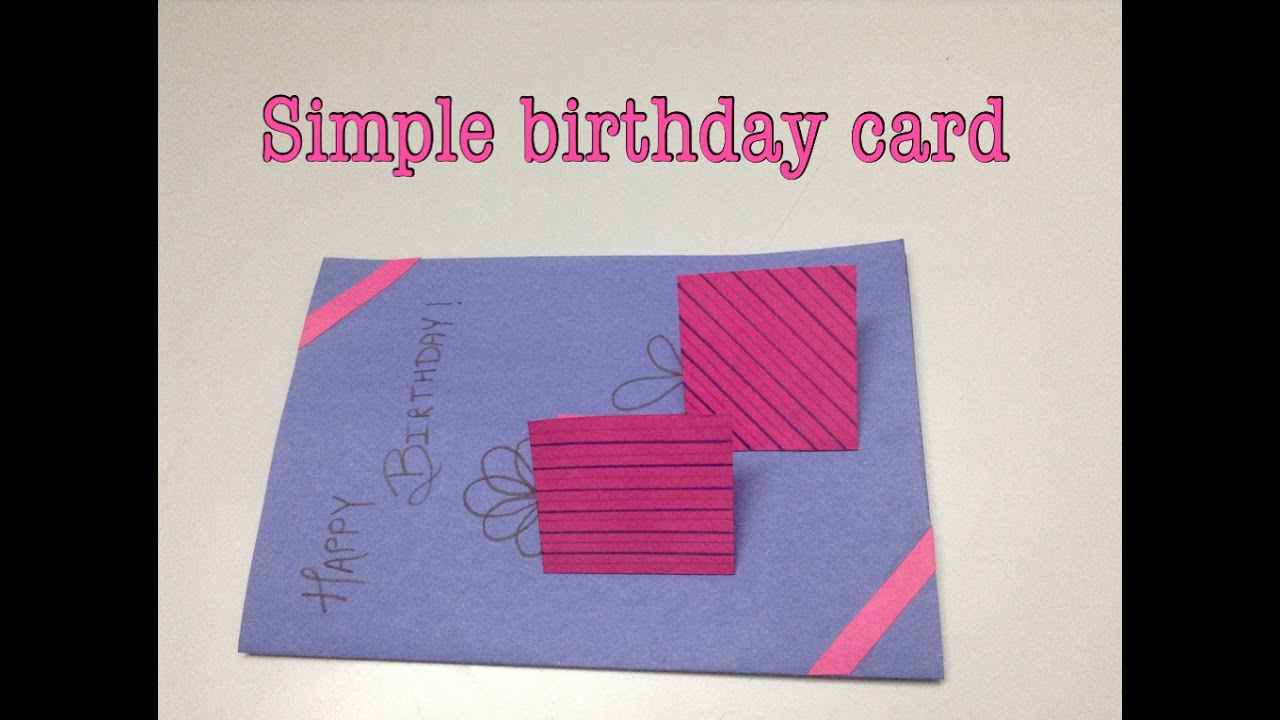 cards handmade birthday card ; maxresdefault