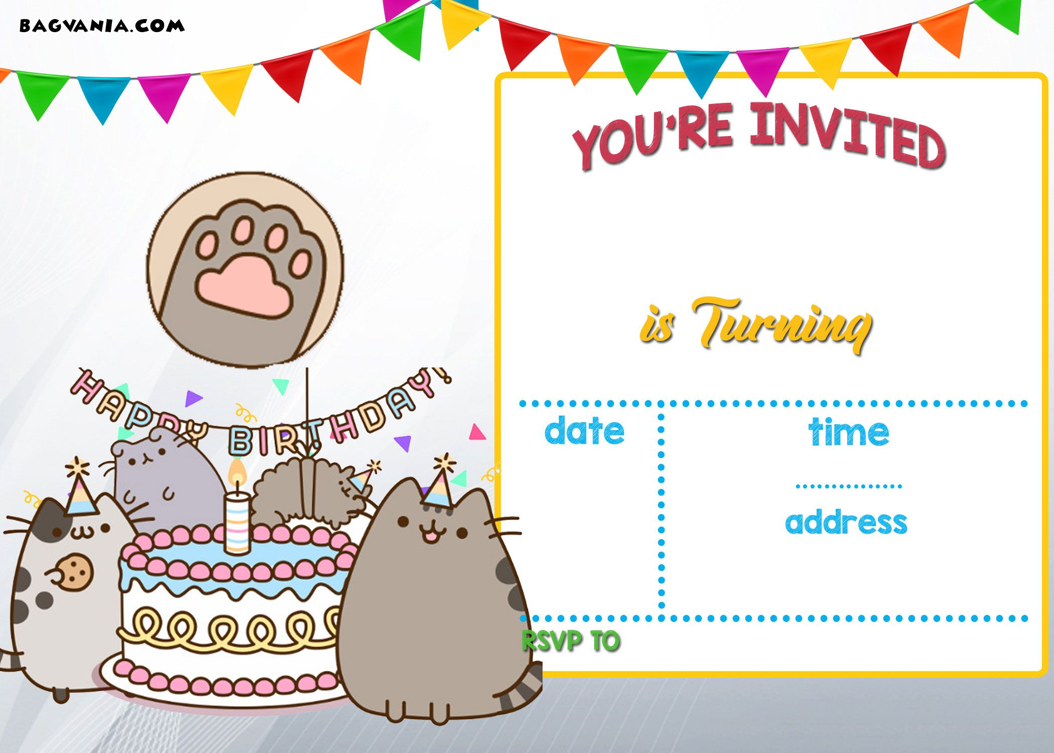 cat birthday invitation templates ; 25a3fdcd8a2ae962ff0ce94ee0d26025