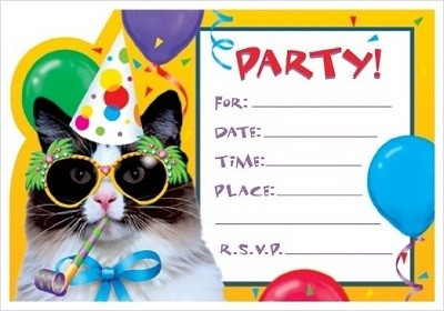 cat birthday invitation templates ; Amazing-Birthday-Invitation-Template-To-Make-Birthday-Invitation-Cards