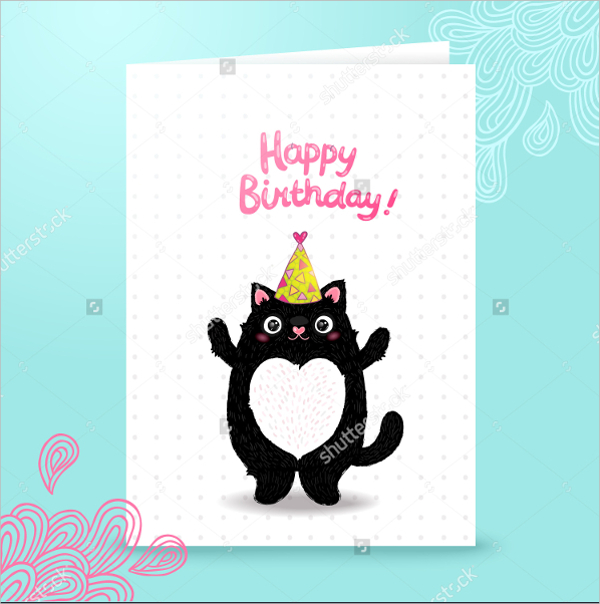 cat birthday invitation templates ; Happy-Cat-Birthday-Invitation-Template