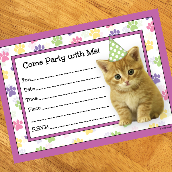 cat birthday invitation templates ; cat-party-invitations-as-your-ideas-amplifyer-for-your-fetching-Party-invitation-7