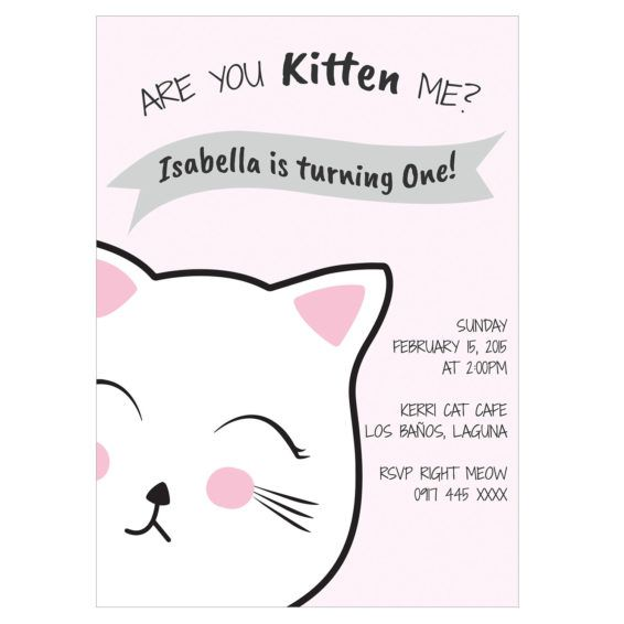 cat birthday invitation templates ; f4adc9b204d4b4ac90bdc087f767ffca