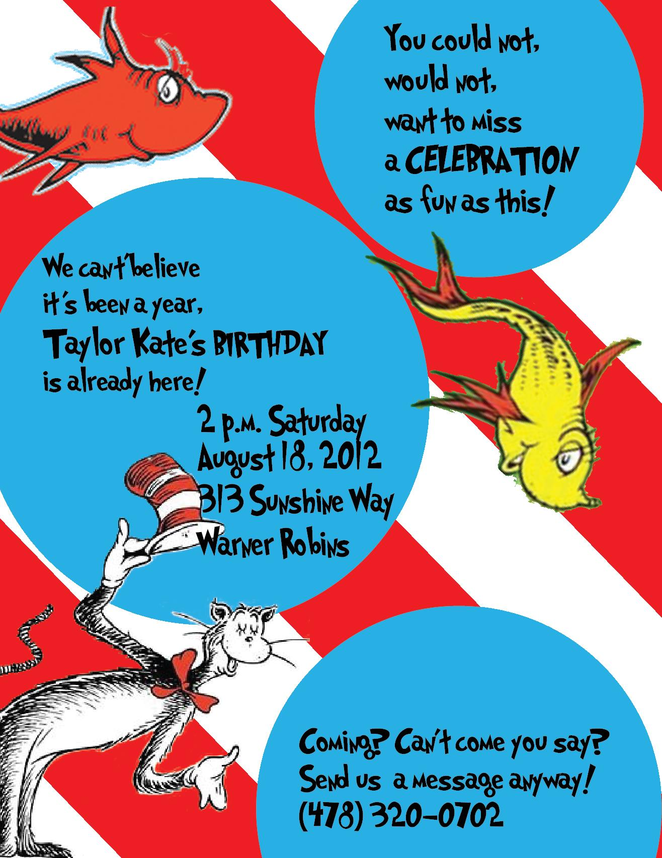 cat in the hat birthday invitation wording ; cat-in-the-hat-birthday-invitations-for-the-invitations-design-of-your-inspiration-Birthday-Invitation-Templates-party-5