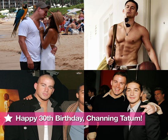 channing tatum birthday greeting ; Pictures-Channing-Tatum-Shirtless-30th-Birthday