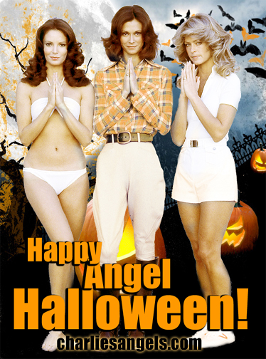 charlie's angels birthday card ; websize