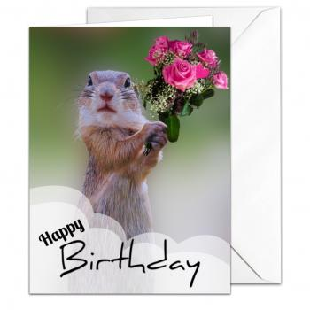 chipmunk birthday card ; 350x350_chipmunk_squirrel_birthday_card