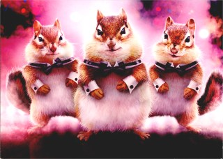 chipmunk birthday card ; Web%2520cd10782-chipmunk-dancers-birthday-card