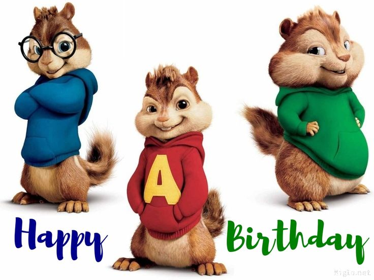 chipmunk birthday card ; c3f57c56de5a870236177e9d5d286e79