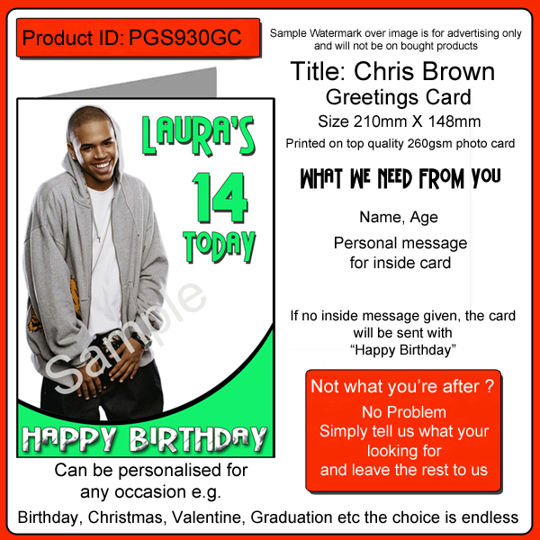 chris brown birthday card ; chris-brown-birthday-card-a5-personalised-pgs930gc-2752-p