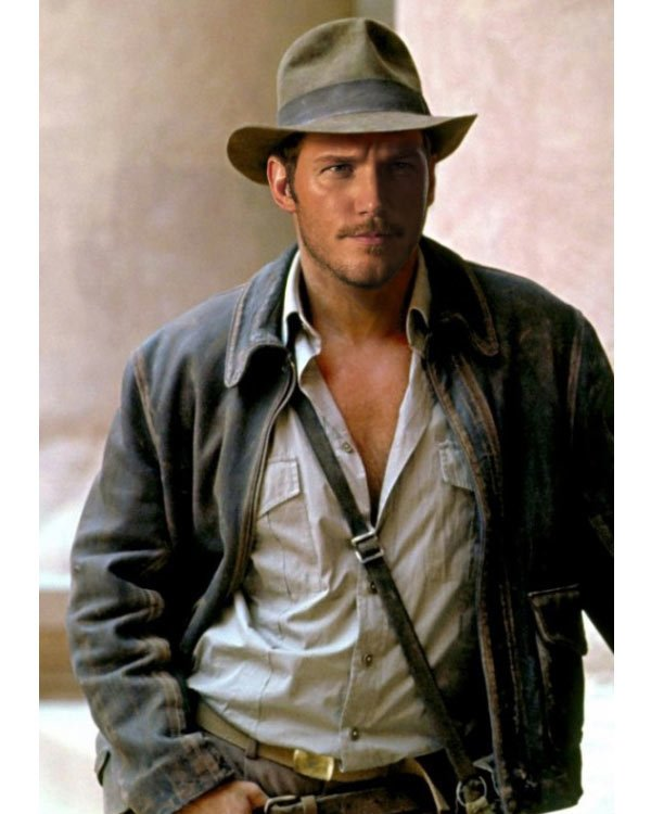 chris pratt birthday card ; chris-pratt-indiana-jones
