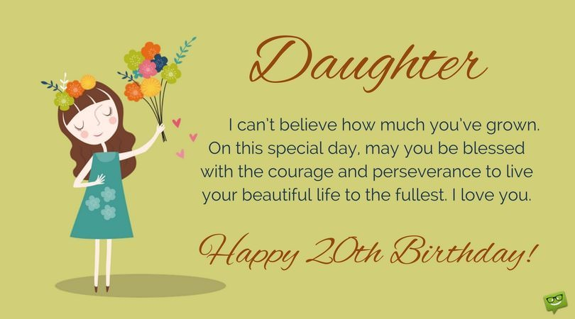 christian message for daughters birthday ; Happy-20th-Birthday-wish-for-daughter