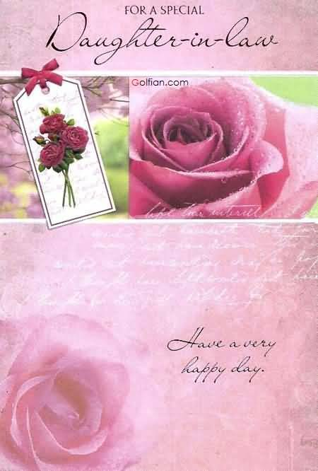 christian message for daughters birthday ; Most-Beautiful-Rose-Birthday-Wishes-For-Special-Daughter-In-Law-Greetings