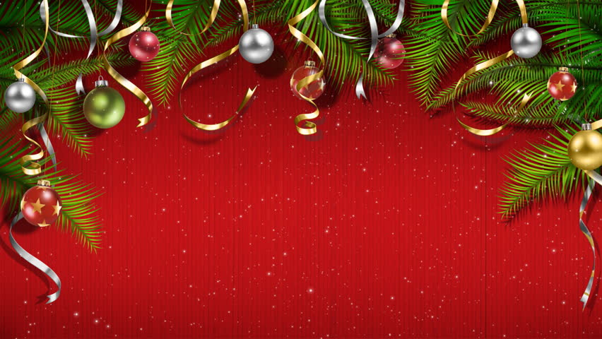 christmas birthday background ; 1
