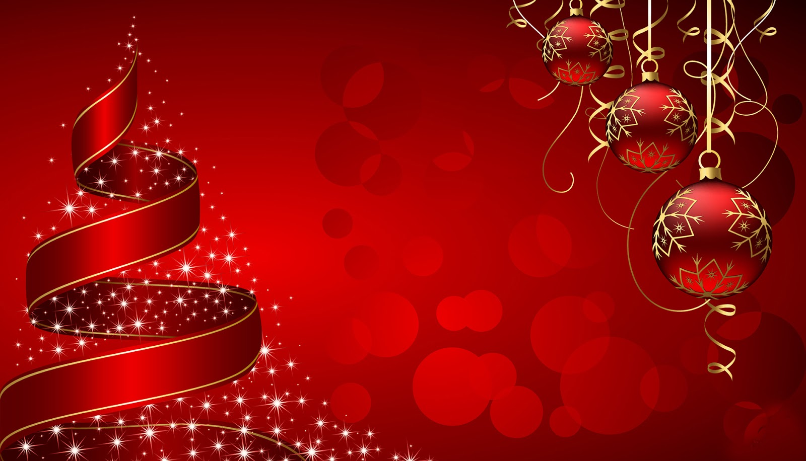 christmas birthday background ; amazing-red-christmas-wishes