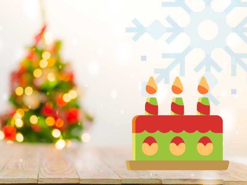 christmas birthday background ; christmas-birthday-backgrounds