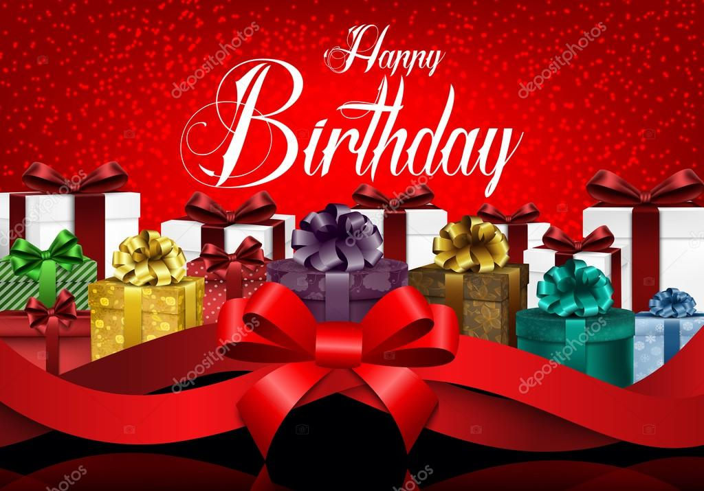 christmas birthday background ; depositphotos_111631428-stock-illustration-happy-birthday-background-with-color
