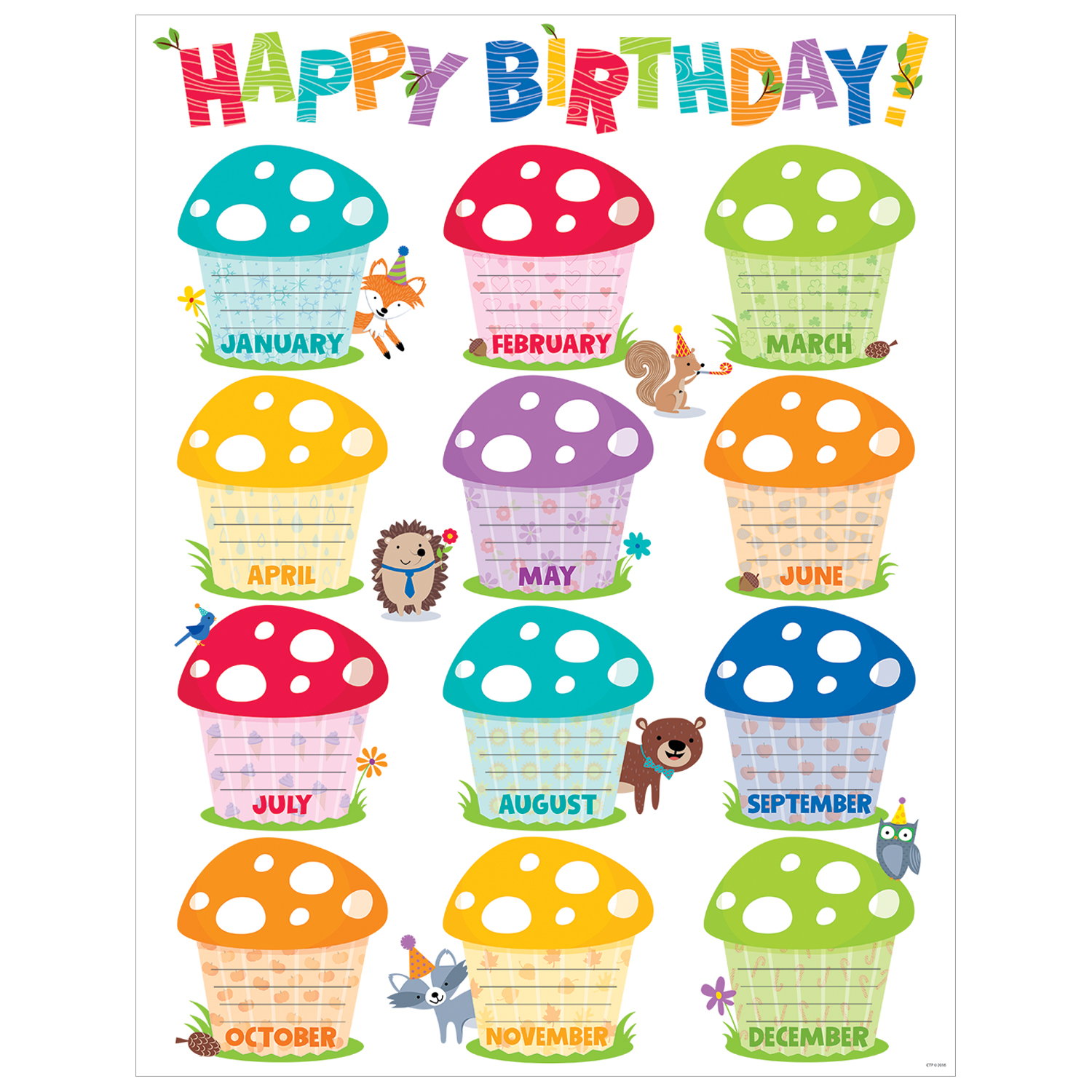 classroom birthday chart template ; happy-birthday-chart--woodland-friends_1