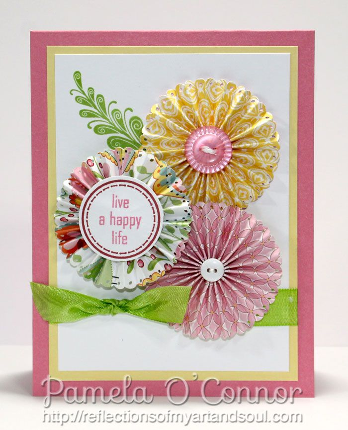 close to my heart birthday card ideas ; f5651bea37547383dfc53727159daa66--paper-rosettes-close-to-my-heart