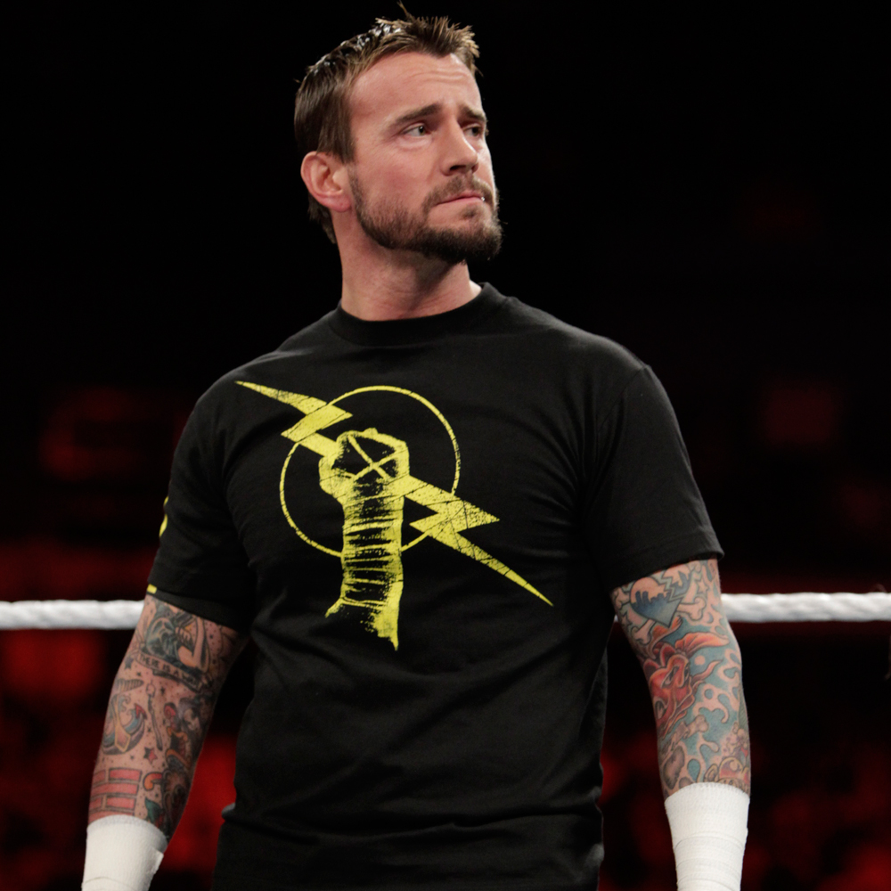 cm punk birthday card ; punk-1429955115