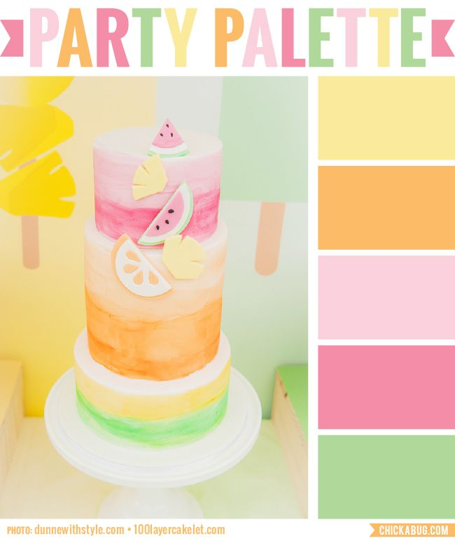 color combinations for birthday cakes ; 0a2c4364608dfebfbf3405a3568b3dba--birthday-fun-birthday-cakes