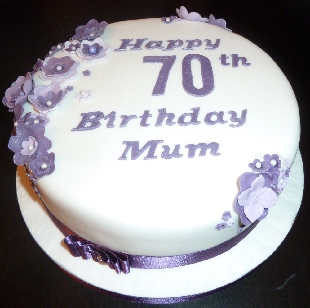 color combinations for birthday cakes ; 70th-birthday-cakes-70th-birthday-cake-with-purple-flowers-wedding-and-birthday-with-white-and-purple-color-combination