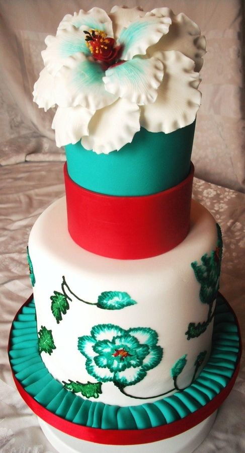 color combinations for birthday cakes ; cca0970dfd13899ff580304928a99a1c