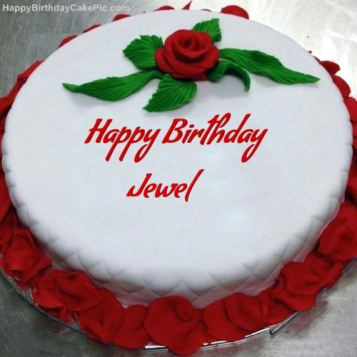 color combinations for birthday cakes ; fascinating-jewel-birthday-cakes-jewel-birthday-cakes-red-rose-birthday-cake-for-jewel-white-and-red-color-combination-design-cake-jewel-birthday-cakes