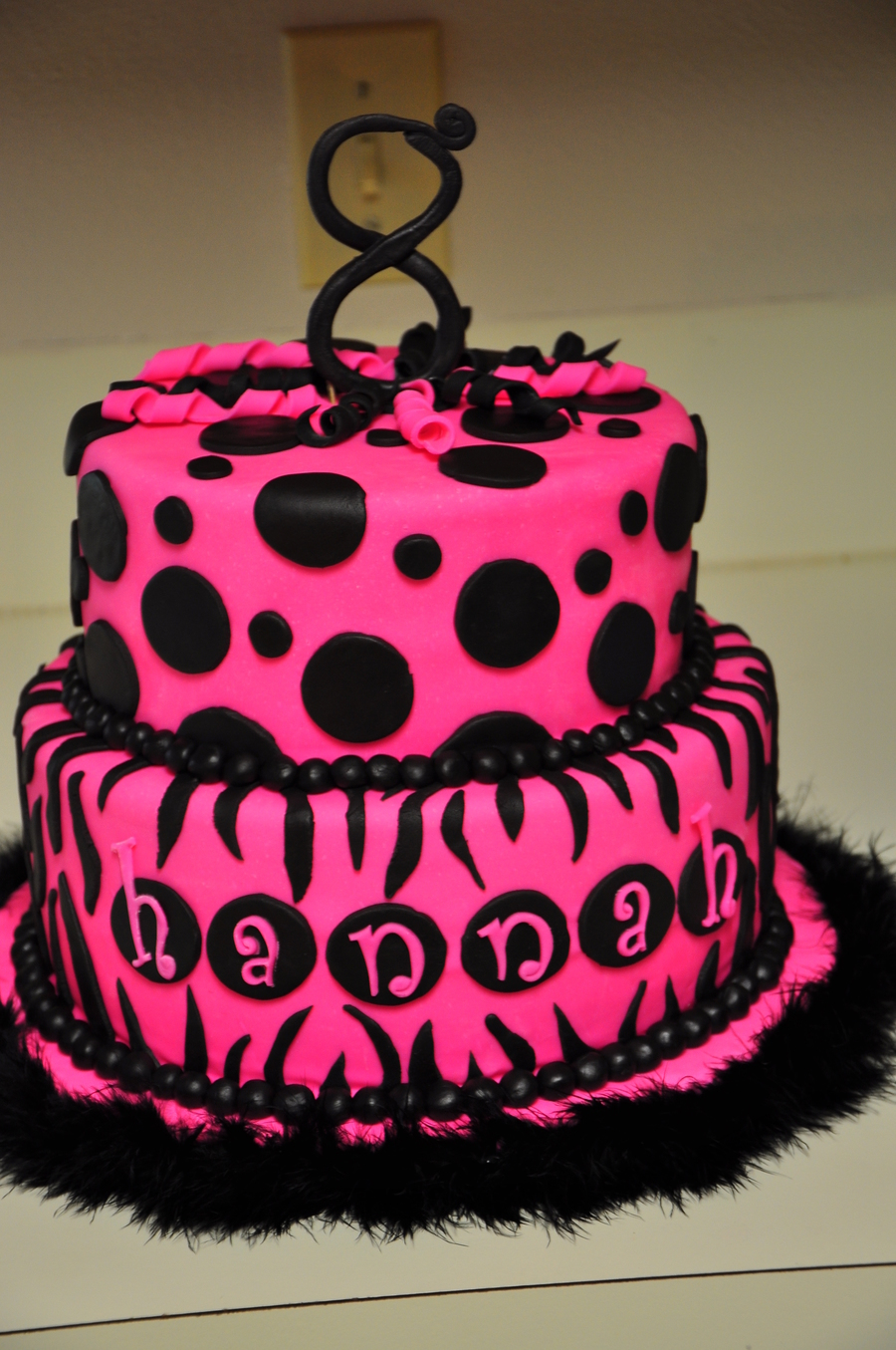 color combinations for birthday cakes ; zebra-birthday-cakes-hot-pink-and-black-zebra-birthday-cake-on-cake-central-black-and-pink-color-combination-cake-design