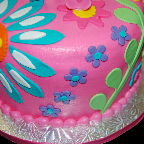 colorful birthday cakes for girls ; 5787530114_14a68ce2c9