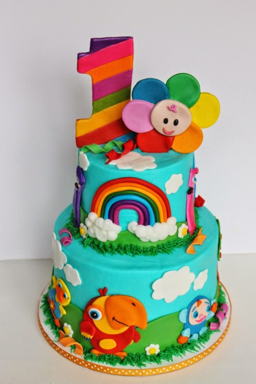 colorful birthday cakes for girls ; kids-birthday-cake-best-kids-baby-birthday-cakes-have-some-fun-with-these-colorful-and-crazy-kids-birthday-eleegance-baby-eksotic-images