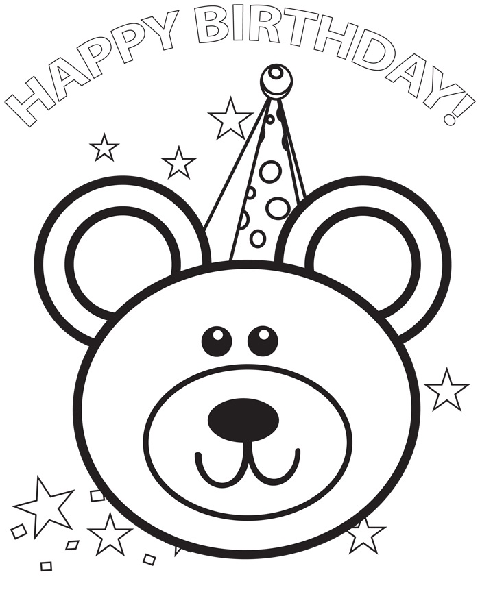 colour in birthday pictures ; Happy-Birthday-Color-Page