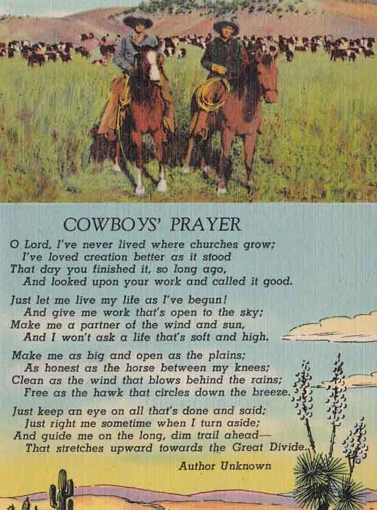 cowboy birthday poem ; b2aafec83a7d863a4d900be41b111f41--cowboy-prayer-cowboy-poetry