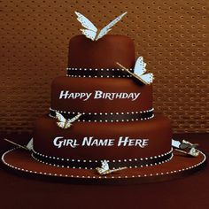 create birthday card online with name free ; eb89bde3648e75debbb560f40f3d54d9--birthday-cakes-for-girls-heart