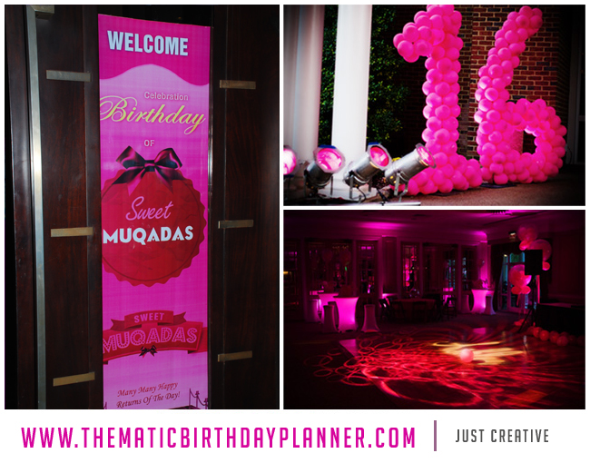 creative birthday banner ideas ; dazzling-16th-party-decorations-24-sweet-16-ideas-best-planner-in-lahore