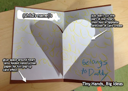 creative birthday card ideas for dad ; heart-belongs-to-daddy