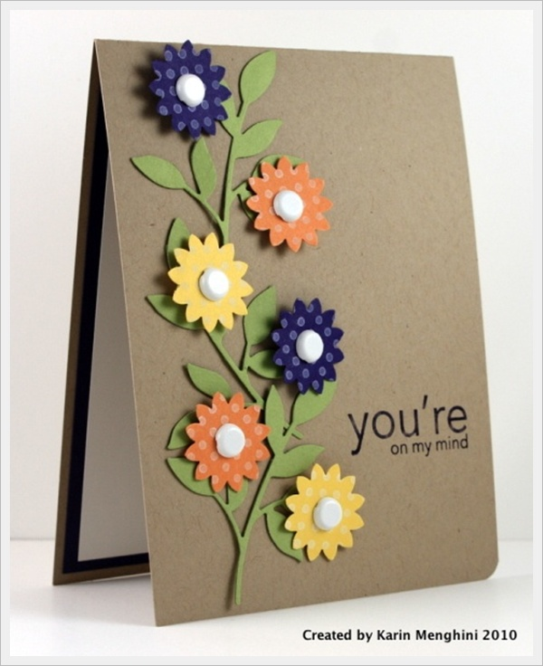 creative handmade birthday card ideas ; designs-for-handmade-greeting-cards-30-cool-handmade-card-ideas-for-birthday-christmas-and-other-download