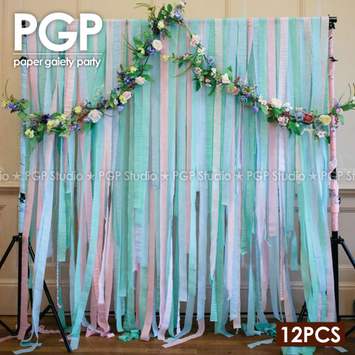 crepe paper design for birthday ; PGP-Blue-Crepe-Paper-Streamers-for-Wedding-Kids-Girls-Frozens-Birthday-Bridal-Showers-Winter-Party
