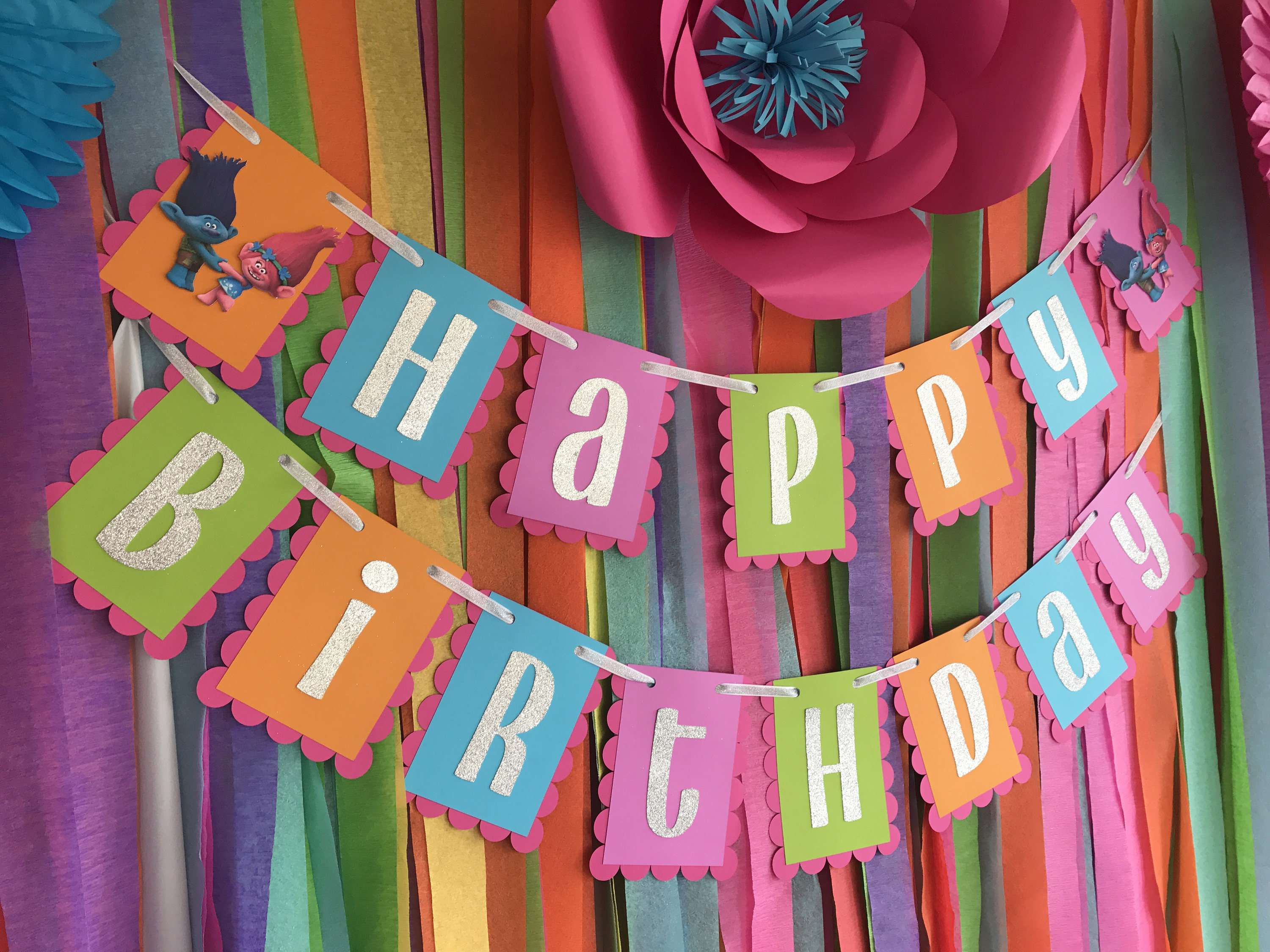 crepe paper design for birthday ; the-best-trolls-birthday-party-ideas-happiness-is-homemade-design-ideas-of-birthday-party-ideas-for-8-year-old-boy-of-birthday-party-ideas-for-8-year-old-boy