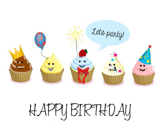 cupcake birthday card sayings ; birthday-quotes-have-a-cupcake-party-with-your-gang-on-your-bestfriends-birthday-with-this-cu