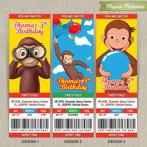 curious george birthday card printable ; 9599231368190f65f4f21660ee7ffaf7