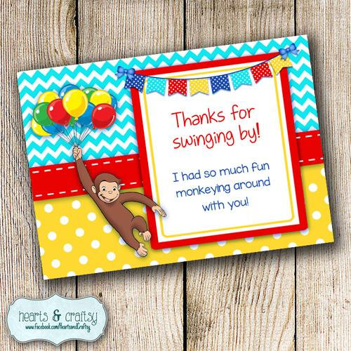 curious george birthday card printable ; il_570xN
