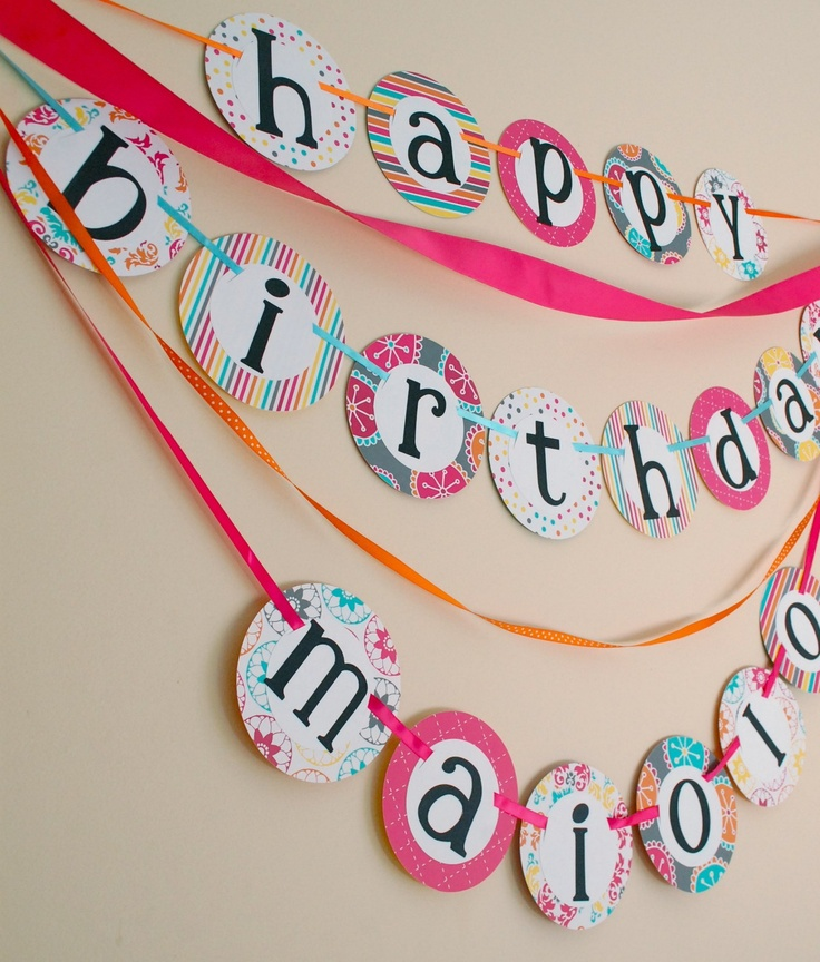 custom bday banners ; customized-birthday-banners-100-happy-birthday-banner-printable-template-cake-and-balloon