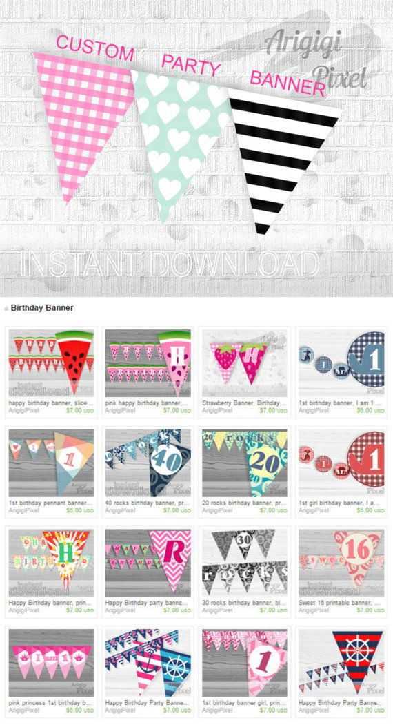 customize your own birthday banner ; 8c6bedced290e97dc9226c127ec39bd3