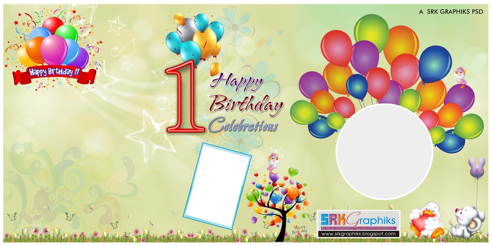 customize your own birthday banner ; birthday_banner_design_photoshop_template_for_free_9