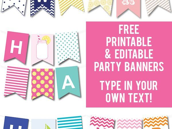 customize your own birthday banner ; customize-your-own-birthday-banner-luxury-433-best-perfectly-printable-images-on-pinterest-of-customize-your-own-birthday-banner-600x450
