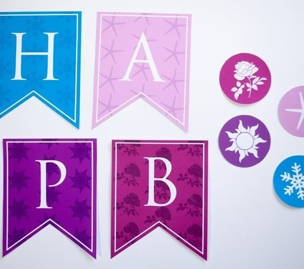 customize your own birthday banner ; personalized-princess-happy-birthday-banner-printable-pdf-for-all-with-free-printable-happy-birthday-banner-templates-600x531