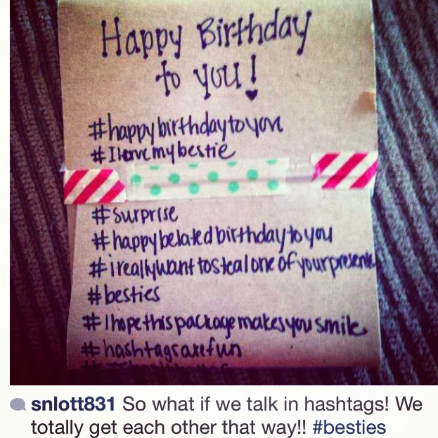 cute birthday hashtags ; octbl9